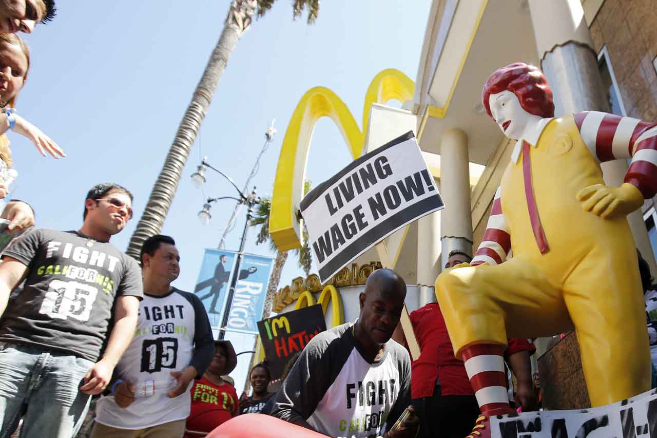 Fast Food Workers, Joined By Other Low Wage Workers ...